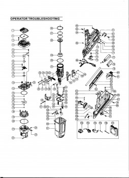 Paslode Im350 Parts Diagram